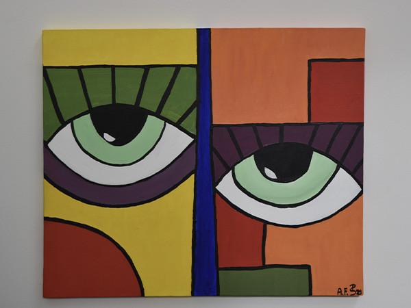"""Bild """"Abstrakte Augen"""""""
