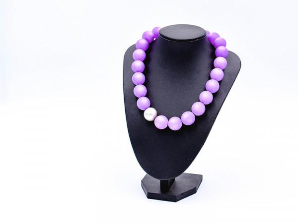 Halskette Polaris lila
