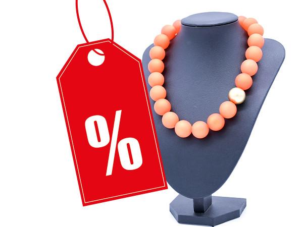 Halskette Polaris orange