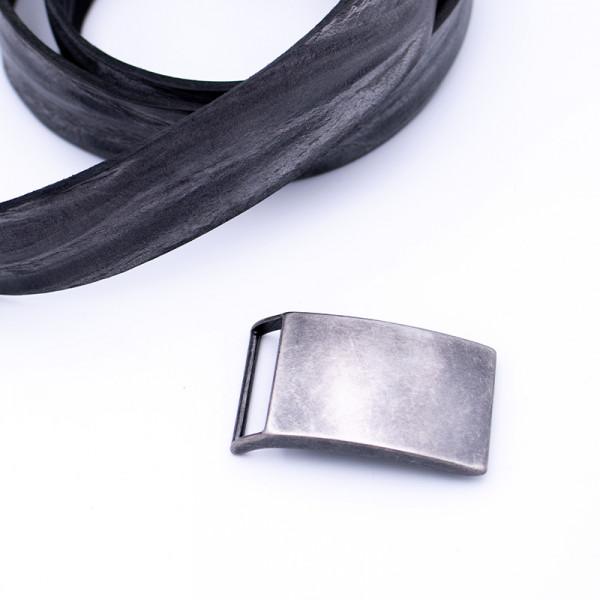 "Gürtelschnalle "" Shield Metallic"""