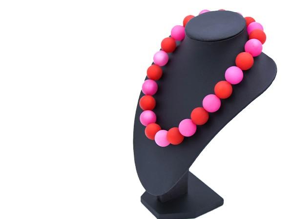 Halskette Polaris rot-pink