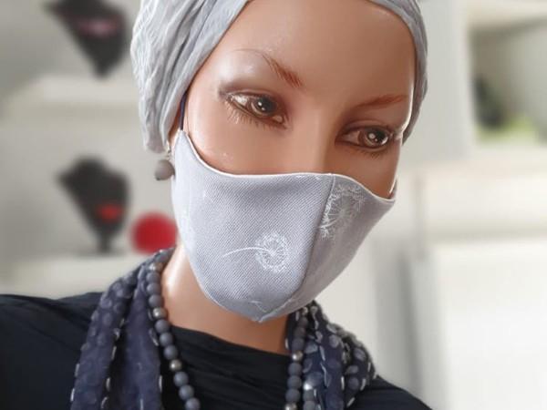 Mund- Nasenmasken grau