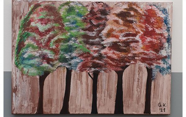 "Bild Bäume"""