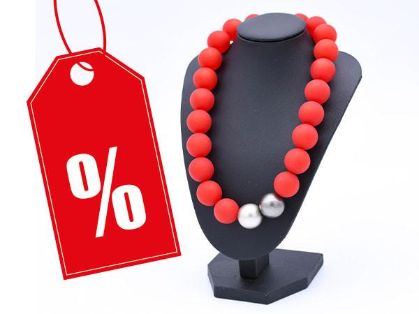 Halskette Polaris rot Variante 2