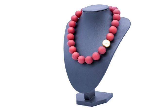 Halskette Polaris rot