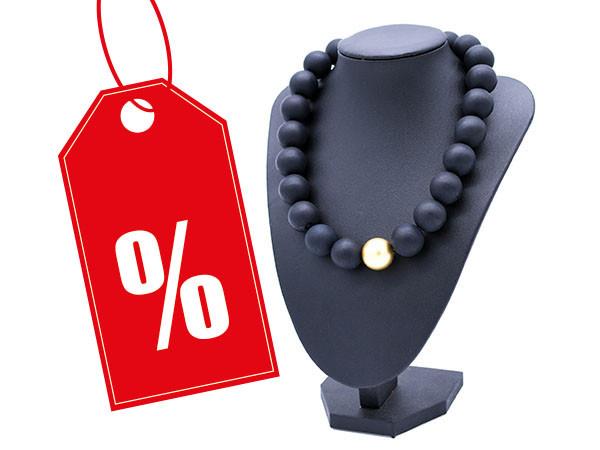 Halskette Polaris schwarz