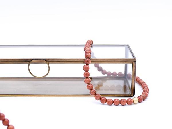 Halskette Goldfluss