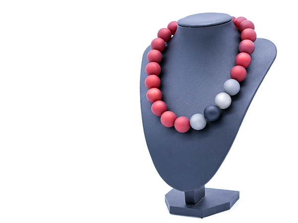 Halskette Polaris rot Variante 3